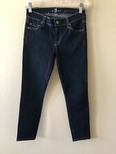 Ladies Seven For All Mankind The Skinny Jeans Size 24 X 25