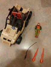 Gi Joe Desert Fox 4WD 1988 100% Complete w/driver Skidmark