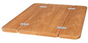 Roca Teak Tischplatte klappbar in diversen Größen Bootstisch Klapptisch Aktion