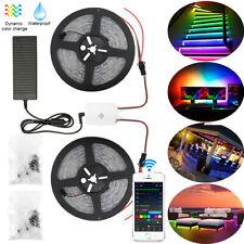 WS2811 5050 RGB Dream Color LED Strip Light 12V Individual Addressable 5m-20m