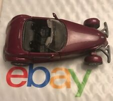 Maisto Plymouth Prowler 1/38 Scale Purple Convertible Toy Car