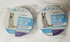 (2) Healex Dog Flea Collars for Flea and Tick Treatment and Prevention