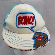 DOMO  Cap Hat adjustable snapback flatbilled