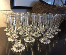 """Anchor Hocking Boopie Clear 5 1/2"""" Water Goblet - only 1 left"""