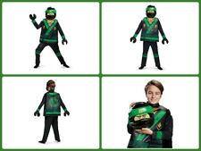 Lloyd LEGO Ninjago Movie Classic Costume, GrDeluxe Costume, Green, Large (10-12)