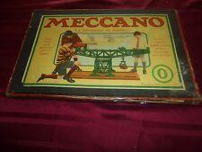 Beau et ancien coffret boite MECCANO N°0