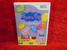 *wii PEPPA PIG Fun & And Games (NI) Great Kids Game Nintendo PAL UK Version