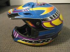 MSR Racing-System 6-Motocross/Off Road Helmet-Adult Small with Bag
