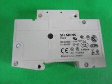 Siemens Mini Circuit Breaker -- 5SX2120-7 -- Used