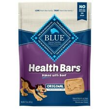 Blue Buffalo Health Bars Baked With Beef Original For Dogs 16 oz