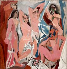 "28W/""x22H/"" WOMEN OF ALGIERS by PABLO PICASSO FEMMES D/'ALGER CHOICES of CANVAS"