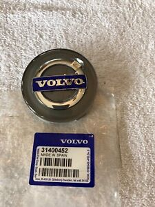 Volvo 850 940 C70 S60 S70 S80 V70 XC70 OEM Wheel Center Cap 30666913 Blue NEW