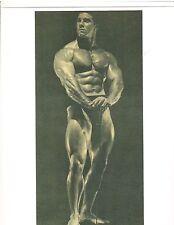 REG PARK Mr Universe Bodybuilding Muscle Photo B&W