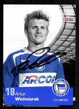 Artur Wichniarek Hertha BSC Berlin 2005-06 TOP AK + A 72513