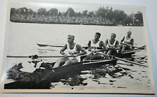 OLYMPIA 1936 Eckstein, Rome, Karl and Menne gold medall 4 rower team  nr 110/60