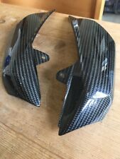 ktm 990 superduke LC8 Carbon Fibre Exhaust Trim