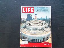 1955 JUNE 27 LIFE MAGAZINE - THE CONSTITUTION AND ITS CREW - L 961
