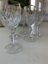 New ListingGorham Crystal Nocturne Retired Wine Glasses