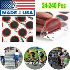 24-96x Bicycle Bike Tire Tyre Tube Rubber-Puncture -Patch Patches Repair Kit