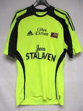 Maillot E.A.G GUINGAMP jaune ADIDAS football shirt collection jersey maglia M