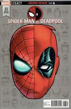 SPIDER-MAN vs DEADPOOL #23 1:10 INCENTIVE VARIANT COVER