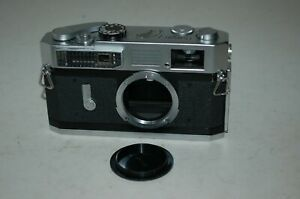Canon-7 Vintage 1965 Japanese Rangefinder Camera. Serviced. No.917380. UK Sale