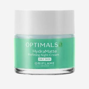 Oriflame Optimals Hydra Matte Refining Night Cream For Oily Skin 50 ml