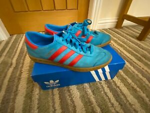 calina saldar fácilmente  adidas Hamburg Blue Trainers for Men for sale | eBay