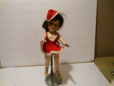 "14"" Mary Hoyer Hard Plastic Doll , With Wooden Case & Clothes"