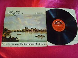 MOZART SYMPHONIES No.38-39 - OTTO KLEMPERER-LP EX-/EX/SAX 2468/1963 UK
