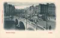 VINTAGE PATRICK'S BRIDGE, CORK, IRELAND POSTCARD - Published by Lawrence, Dublin