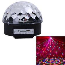 ALTAVOZ USB con Cable de Luces de Colores Bola de Discoteca MP3 Bluetooth