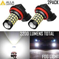 Alla Lighting 2200lm H11 51-Led Fog Light Driving Bulbs Lamps Xenon White 6000K