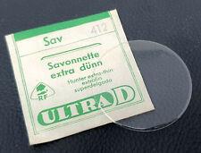 Uhrenglas  / Kunststoffglas / Savonnette extra dünn  / von 39 mm bis 44,6 mm
