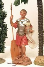 """Fontanini Depose Italy 7.5""""Marcus Soldier Nativity Village Figure 52809 New Nobx"""