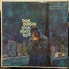 DON GIBSON look who's blue LP Mint- LPM-2184 Vinyl 1960 Mono USA 1s/1s RCA