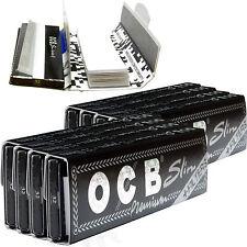 OCB Longpapes mit Filtertips Slim Filter Tips Blättchen Long Papers (8 Heftchen)