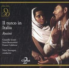 FREE US SHIP. on ANY 2 CDs! ~Used,VeryGood/Good CD : Rossini: Il turco in Italia