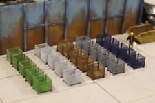More details for bulkscene - model mesh stillage containers oo gauge 1/76 - large pack of 25