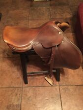 "CROSBY English/Jump Show Saddle - PRIX DES NATIONS 17.5"" Olympic Saddlery Spring"