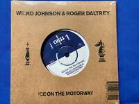 "Wilco Johnson  & Roger Daltrey - Ice On The Motorway Vinyl 7"" Record New&Sealed"