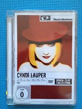 Cyndi Lauper:12 Deadly Cyns...And Then Some(UK DVD)Videos Super Jewel Box Case
