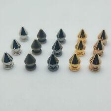 20Pcs Punk Pyramide Kegel Nieten Nagel Spikes Rock Leder Handwerk Tasche Dekor