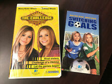 Lot of 2 Mary-Kate  Ashley Olsen - The Challenge And Switching Goals