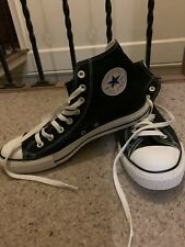 Converse Chuck Taylor All Star Hi Shoes Black M9160c Sneaker Trainers UK 9