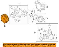Chevrolet GM OEM 12-15 Cruze 1.4L-L4 Water Pump-Pulley 90531737
