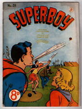 Australian SUPERBOY 31 DC Comics 1950's BATMAN & ROBIN STORY UK
