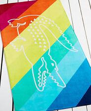 "Lacoste Crocostripe Beach Towel, 100 Cotton, 390 GSM, 36""x72"""
