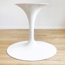 Vintage Authentic Knoll Saarinen MCM OVAL White Tulip Dining Table Base