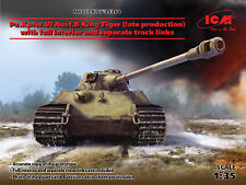 ICM 1/35 Pz. Kpfw. VI Exéc. B King Tiger (late production) WITH FULL INTERIOR & SEP